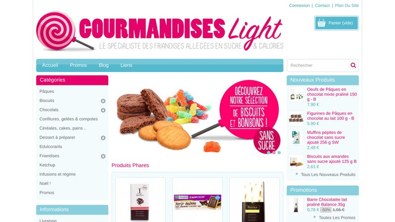 Gourmandise Light