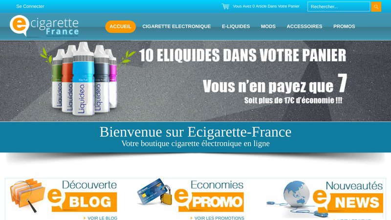 Boutique Ecigarette France