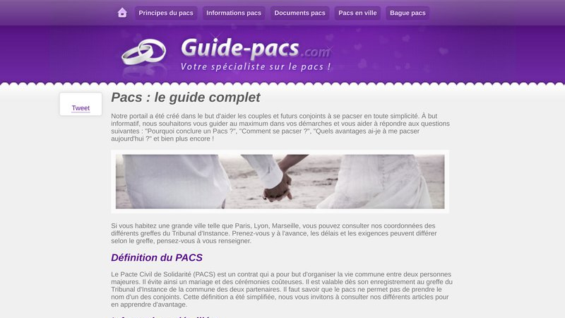 Guide pacs