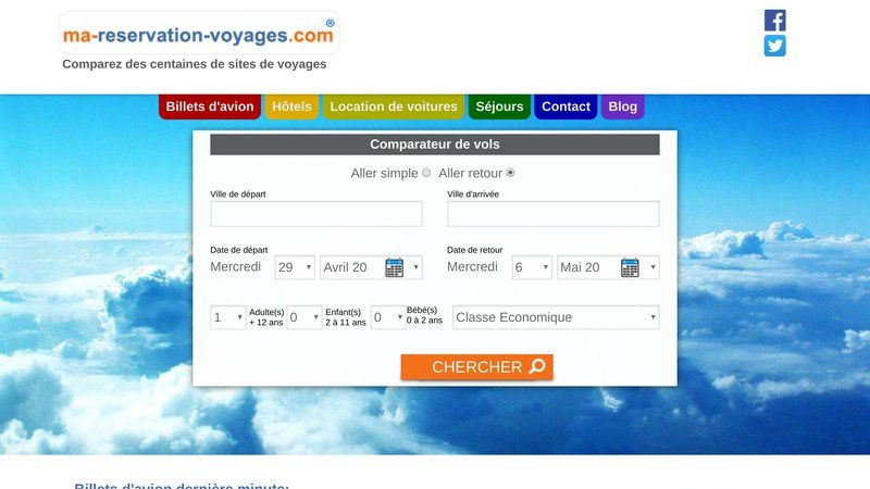 Ma reservation voyages