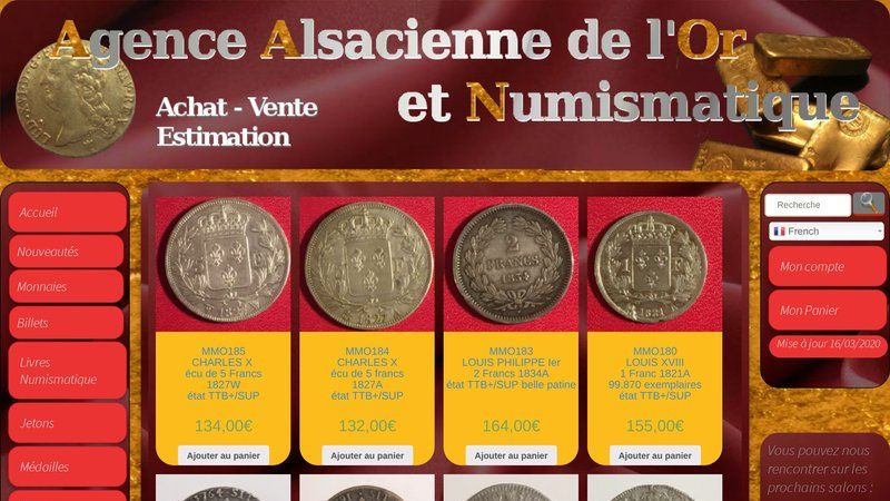 Agence Alsacienne de l'Or