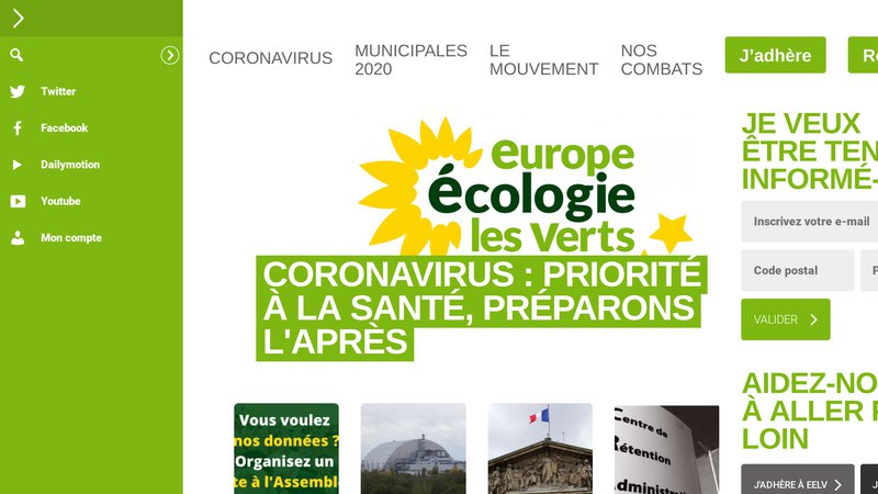 Europe Ecologie - Les Verts