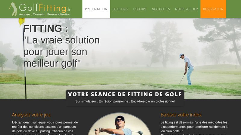 Golf Fitting