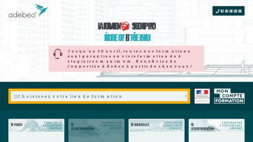 Page d'accueil du site : Formation Sketchup