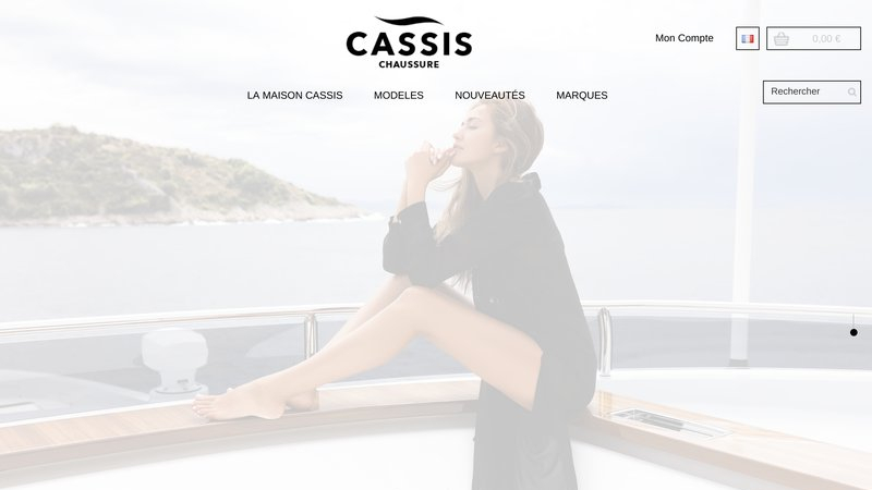 Chaussure Cassis