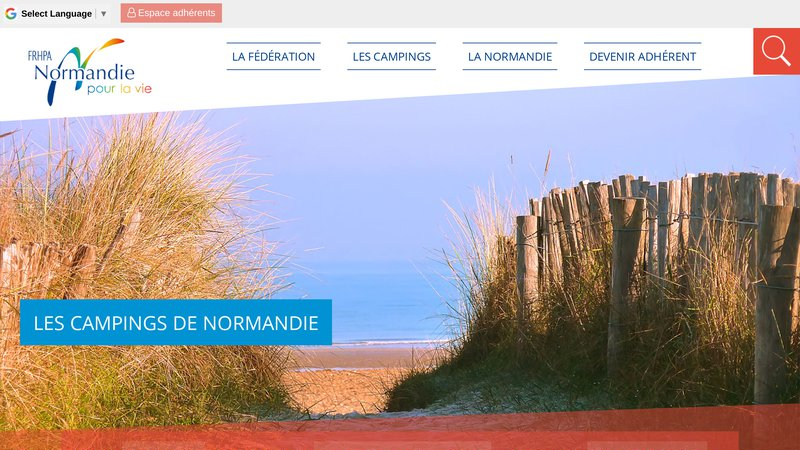 Campings de la Normandie