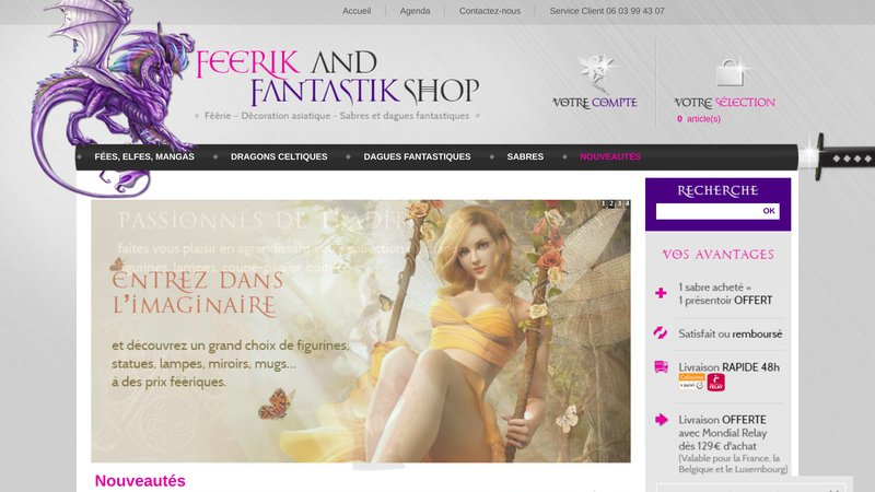 Feerik and fantastic shop