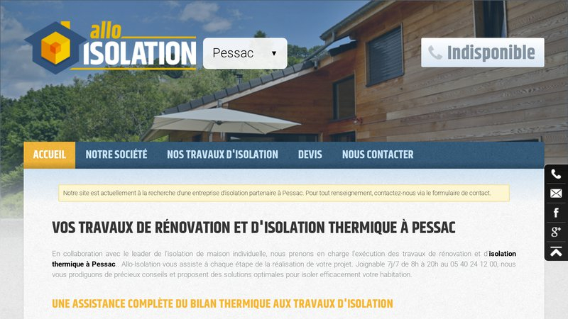 Allo-Isolation Pessac