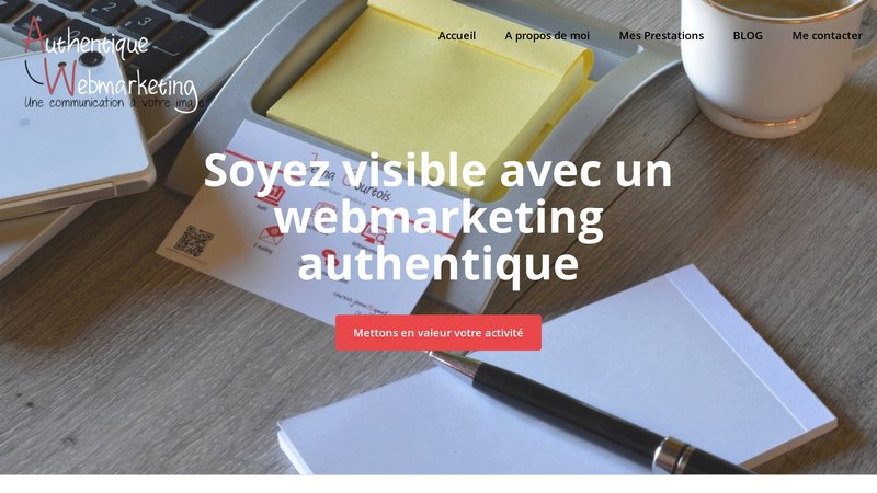 Authentique webmarketing