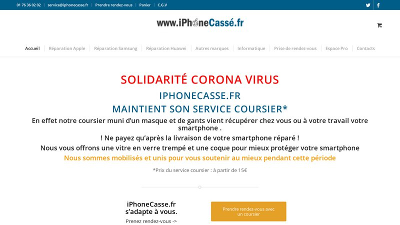 iPhone Cassé