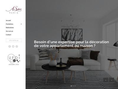 Page daccueil du site as deco