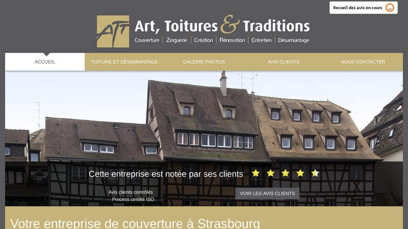 Art, Toitures et Traditions