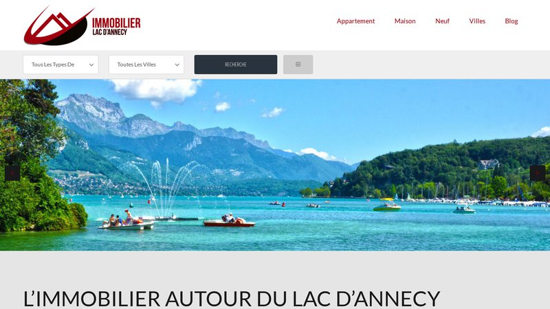 Immobilier Lac Annecy
