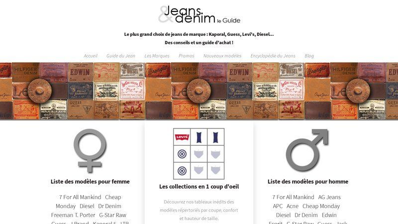 Le Guide Jeans & Denim