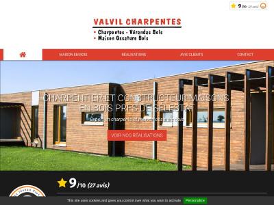 valvil charpentes entreprise de charpente en alsace. Black Bedroom Furniture Sets. Home Design Ideas