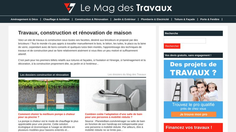 Travaux & Construction