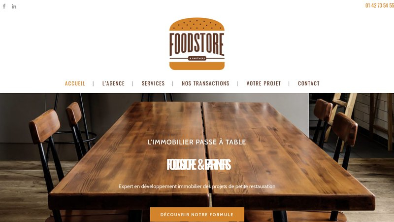 Foodstore and partner