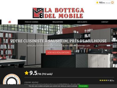 la bottega del mobile pose de cuisines italiennes en alsace. Black Bedroom Furniture Sets. Home Design Ideas