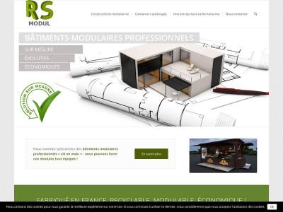 rs modul constructions modulaires rapides et de qualit. Black Bedroom Furniture Sets. Home Design Ideas
