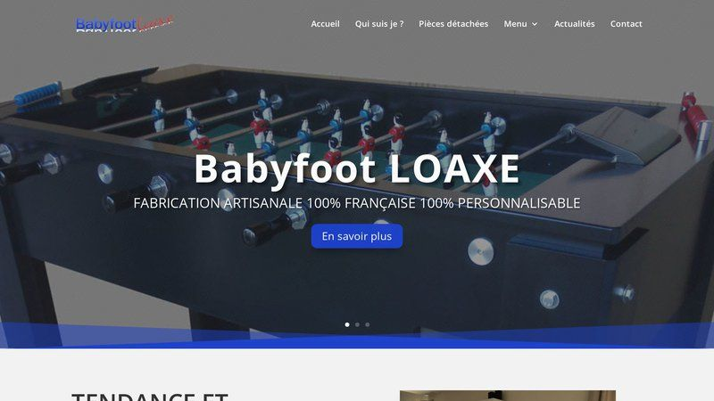 Babyfoot Loaxe