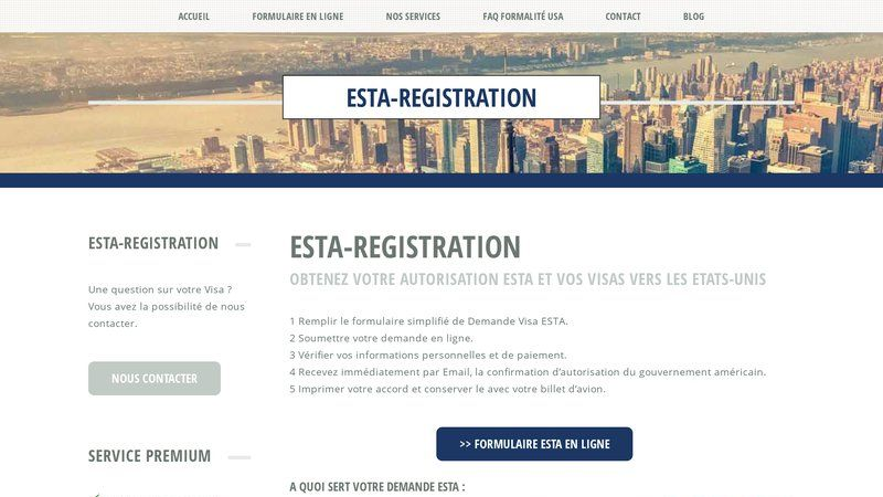 Esta registration