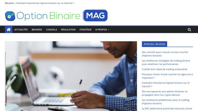 Option Binaire Mag